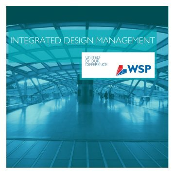 INTEGRATED DESIGN MANAGEMENT - WSP Group