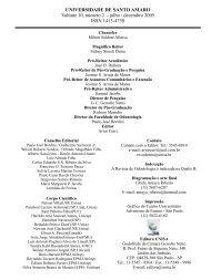 Edição do 2º semestre de 2005. (2.308Kb) - Unisa