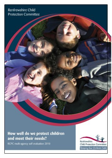 Multi-agency self evaluation draft 1 12 May - Renfrewshire Council