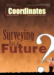 October 2008   - Coordinates : A resource on positioning, navigation ...