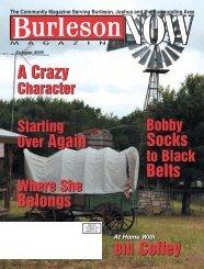 The Community Magazine Serving Burleson ... - Now Magazines