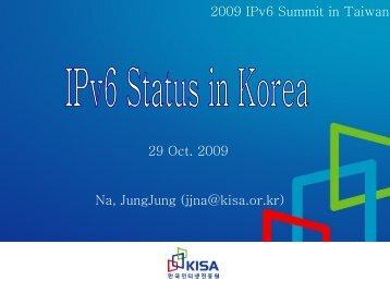 슬라이드 1 - IPv6 Forum Taiwan