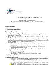 Referat 2010 - Dansk Cytologiforening