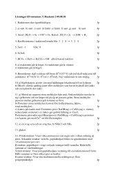 Lösningar till tentamen 3 i Baskemi 2 09.08.18 1. Reaktionen sker ...