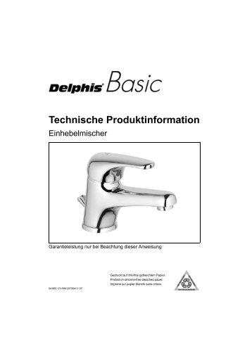 Technische Produktinformation