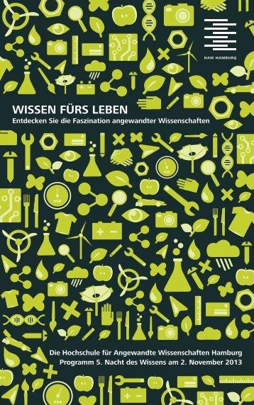 NdW_2013_HAW Hamburg_Programmheft.pdf - Prof. Dr. Johannes ...