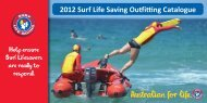 2012 Surf Life Saving Ouing Catalogue 2012 Surf Life Saving ...