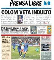 ¡Bicolor vence a México! PNC busca liberar a cuatro ... - Prensa Libre