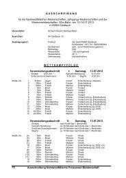 078-Ausschreibung zu den Freiwassermeisterschaften - DSV