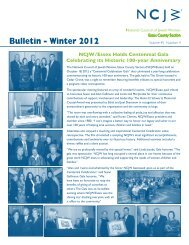 Bulletin - Winter 2012 - Essex County Section
