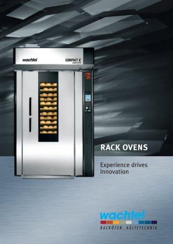 RACK OVENS - Wachtel