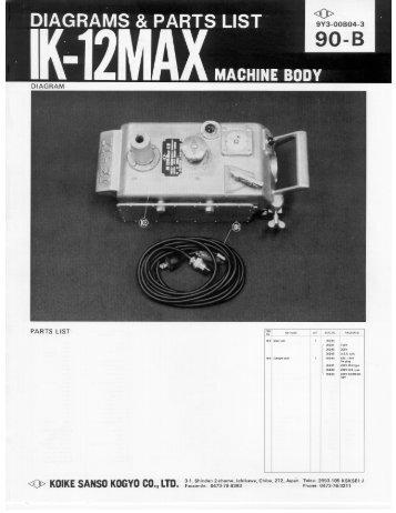 IK-12 Max II PDF - Koike