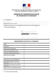dmde tr AN maj - Consulat général de France à Zurich