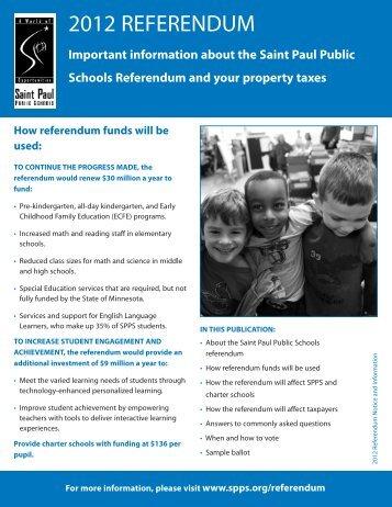 REf mail - St. Paul Public Schools