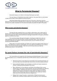 What Is Periodontal Disease? - Carnegie Dental Group