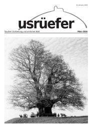 Staufner Dorfzeitung und amtliches Blatt März 2004 - Staufen