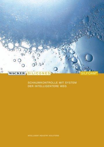 Anwendungsbereich SILFOAM (PDF) - Kahmann und Ellerbrock