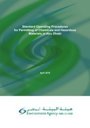 Standard Operating Procedures for Permitting of Chemicals and ...