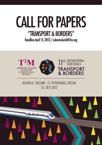 Call for Papers - T2M
