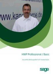 Datenblatt HWP Professional - bei Comrat Computer ...
