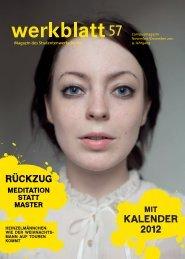 KALENDER 2012 - Studentenwerk Berlin