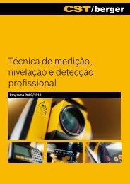 Técnica de medição, nivelação e detecção profissional