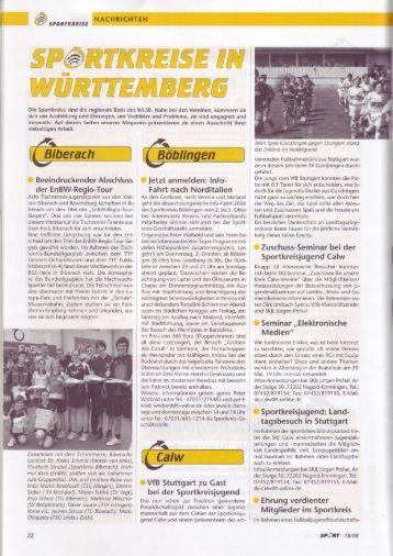 tagsbesuch in Stuttgart - Sportkreisjugend Calw