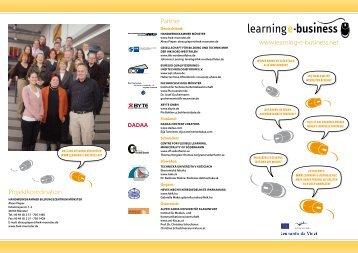 www.learning-e-business.net Partner Projektkoordination