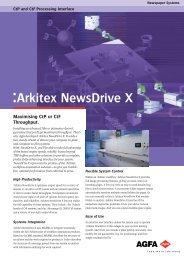 Agfa Arkitex NewsDrive