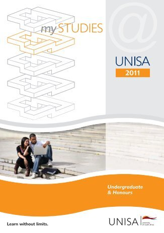 my Studies @ Unisa - University of South Africa