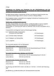 Ausschreibung allgemein - Sachsen-Anhalt-Tag 2012