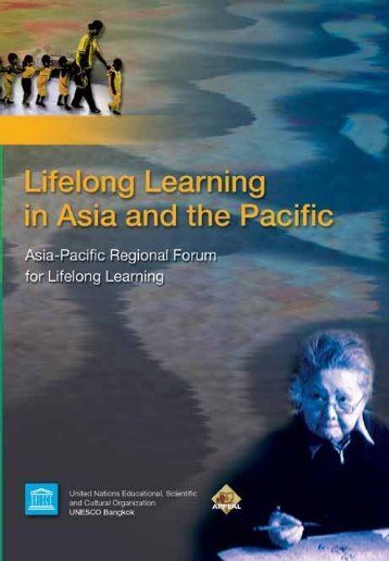 Lifelong Learning in Asia and the Pacific