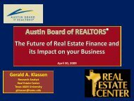 The Future of Real Estate Finance and its Impact on ... - ABoR.com