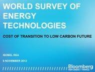 Isobel Rea, BNEF - World Energy Council