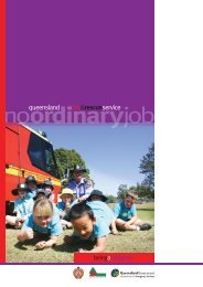 Being a firefighter - Queensland Fire and Rescue Service