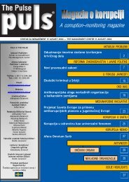 A corruption-monitoring magazine