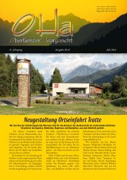 OHa Nr. 41 - Gemeinde Gaimberg