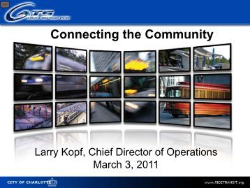 Connecting the Community - Charlotte Chamber of Commerce