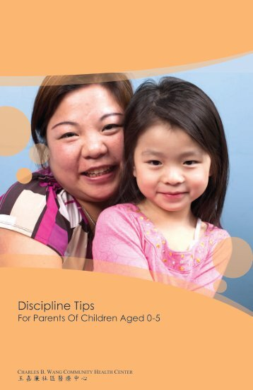 Discipline Tips - Charles B. Wang Community Health Center