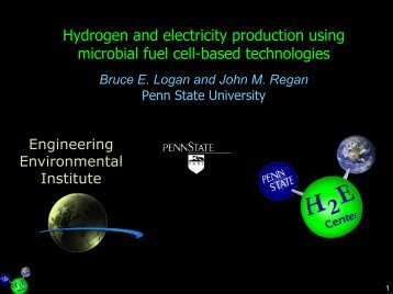 Hydrogen and Electricity Production - Penn State University