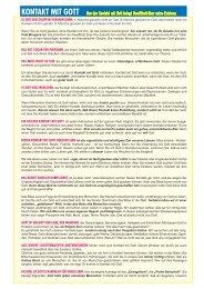 26 - Kontakt mit Gott - TPI-Flyer
