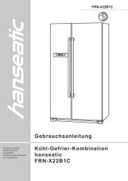 92115 Side-by-side-Kühl-Gefrier-Kombi 201204zz - Schwab