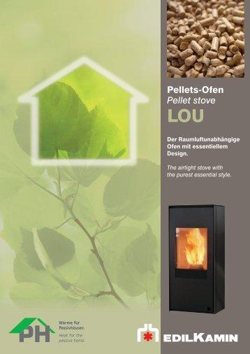 Pellets-Ofen Pellet stove - Edilkamin