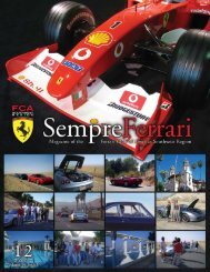 Volume 14 Issue 1 - January/February 2007 - Ferrari Club of ...
