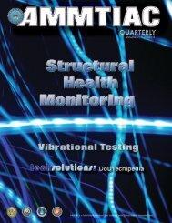 AMMTIAC Quarterly, Vol. 3, No. 4 - Structural Health Monitoring