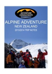 Alpine Adventure - New Zealand Southern Alps
