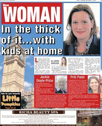 Echo New Woman 05 11 12 - Newsquest