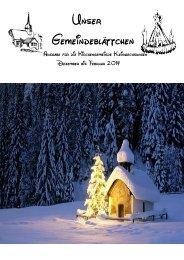 Unser Gemeindeblättchen - evangelischer Kirchenkreis Südharz