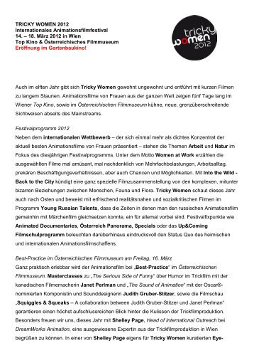 Tricky Women 2012 Pressetext (PDF)