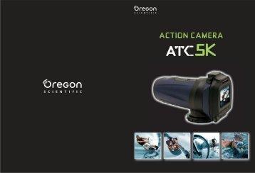 ATC5K Camara de acción y RA122 digital Tracker - Oregon Scientific